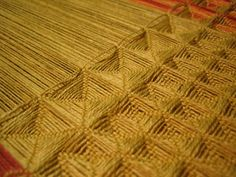 Posts about Waffle written by fibresofbeing Textile Design, Textile Art, Inkle Weaving, Tear, Weaving Techniques, Knit Fashion, Waffles, Fiber, Google Search