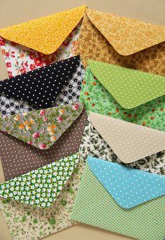 Conjunto envelopes Patchwork - Zoopress