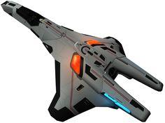 An alternative Valkyrie-class fighter