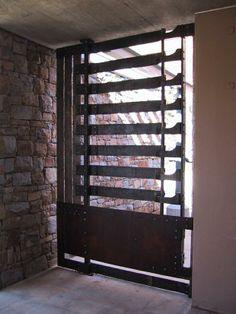 Tokara Wine Farm Gates by Conrad Hicks: Stellenbosch, South Africa Farm Gate, Gates, South Africa, Blinds, Curtains, Wine, Architecture, Room, Furniture