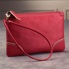A small pouch with plenty of room.