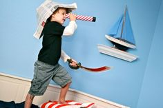 Summer activity ideas, pirate camp