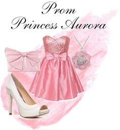 """Prom: Princess Aurora"" by lauren-72 on Polyvore"