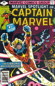 Marvel Spotlight Vol 2 1 Bronze Age Comic by RubbersuitStudios Marvel Comics, Marvel Comic Books, Marvel Dc, Captain Marvel, Dc Universe, Drax The Destroyer, Comic Books For Sale, Marvel Series, Classic Comics