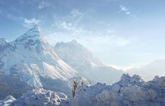 Mountains of Snow | by @hipydeus