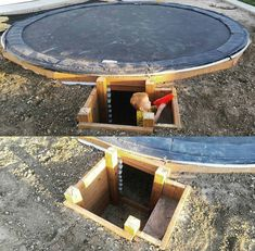 Trampoline fort. - Modern Design
