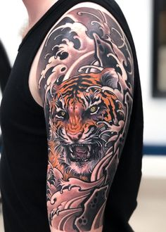 Traditional Japanese Arm Tattoo Designs - Best Japanese Tattoos For Men: Cool Japanese Style Tattoo Designs and Ideas For Guys: Asian Body Art on Sleeve Arm Chest Forearm Back Shoulder and Leg