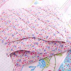 Kids Pink Songbird Collection Bedspread | Dunelm
