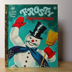Frosty the Snow Man  Christmas Holidays Snowman by TheVintageBook, $4.99