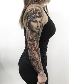 Pin by jeffery hernandez on chicano style tattoo крутые тату Sexy Tattoos, Tattoos 3d, Body Art Tattoos, Tribal Tattoos, Sleeve Tattoos, Tattoos For Women, Woman Tattoos, Tattos, Small Tattoos