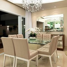 Wondering how to create the perfect dining room? All the dining room inspiration that you need to your interior design project are on this board. Take a look and let you inspiring! See more clicking on the image. Luxury Dining Room, Dining Room Design, Dining Room Table, Dining Area, Living Room Decor, Bedroom Decor, Dinner Room, Square Dining Tables, Dining Room Inspiration