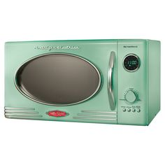 Delonghi olive green microwave