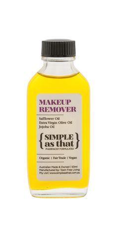 Simplifying your beauty routine is actually good for your skin, and your budget. These easy DIY makeup remover recipes take the mystery out of skincare! Diy Makeup Remover, Natural Makeup Remover, Make Up Remover, Organic Makeup, Organic Beauty, Natural Beauty, Easy Diy Makeup, Wellness Mama, Natural Cosmetics