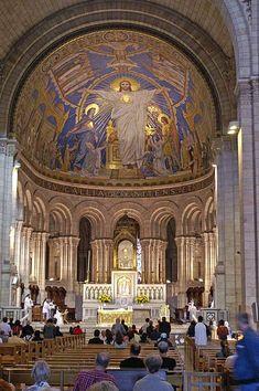 Basilica of The Sacre Coeur, Paris, France. Photo by Didier B. (Sam67fr)