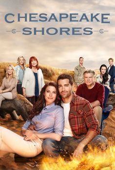 "Its a Wonderful Movie - Your Guide to Family Movies on TV: ""Chesapeake Shores"" - a Hallmark Channel TV Series starring Meghan Ory, Jesse Metcalfe, Diane Ladd, Barbara Niven, and Treat Williams Meghan Ory, Tv Series 2016, Tv Series To Watch, Jesse Metcalfe, Chesapeake Shores Hallmark, Maryland, Sci Fi Thriller, Harry Potter, Series Premiere"