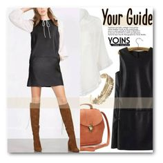 """Yoins 29"" by pokadoll ❤ liked on Polyvore featuring vintage, MustHave, fall2015 and yoins"