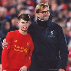 Ben Woodburn, youngest Liverpool FC scorer.
