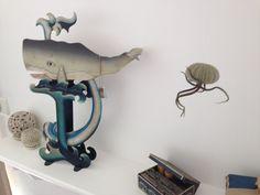 Méduse ourson Tillandsia de la boutique CM17boutique sur Etsy