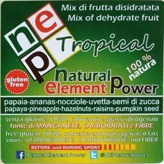 nep tropical cibo frutta secca noogm alimentoperstarebene glutenfree natural100 foodsupplement driedfruit