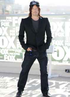 """""""Norman Reedus attends the 'The Walking Dead' TV series press line at Comic-Con International on July 22, 2016 in San Diego """""""