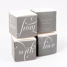 "Transform a simple box into your own unique style with a variety of color options to choose from. Easy to assemble, simply wrap it around a 5 cm x 5 cm/2""x2"" White or Black Paper Box for a trendy and personalized favor box. 16 colors to choose from. Available for purchase online at http://madelinesweddings.weddingstar.com/product/expressions-favor-box-wrap"