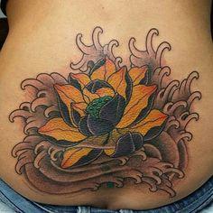 . Lotus Tattoo, Leaf Tattoos, Lotus Flower Tattoos, Lotus Tat