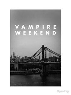 Vampire Weekend NYC by lilyaudrey