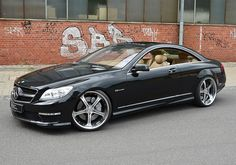 Mercedes Benz CL63 AMG on MEC Design Wheels (8)