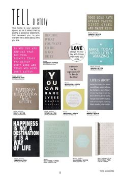 Trend: quotes #bloomingville