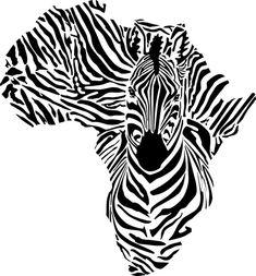 afri4001-pochoir-zebre-carte-afrique-mon-artisane.jpg (488×525)