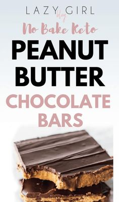 No Bake Keto Peanut Butter Chocolate Bars Even on a sugar free diet you can still enjoy a sweet treat. No-Bake Keto Peanut Butter Chocolate Bars will satisfy all of your dessert cravings with almost none of the sugar. Chocolate Bar Recipe, Peanut Butter Chocolate Bars, Chocolate Cream Cheese, Natural Peanut Butter, Creamy Peanut Butter, Chocolate Cookies, Peanut Butter On Keto, Sugar Free Peanut Butter Cookies, Coconut Chocolate