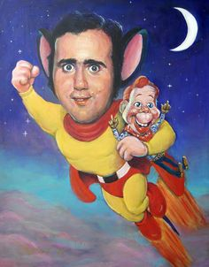 Andy Kaufman by Richard J Frost...Here I am, to save the day!