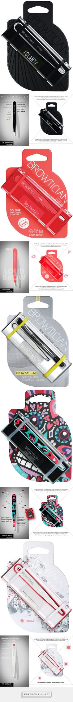 The BROWTICIAN on Behance by Mat Bogust curated by Packaging Diva PD. Awesome tweezer packaging I would definitely buy.