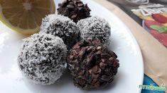 Sütés nélküli mákos golyó gluténmentes Szafi Free alapanyagokból Diy Christmas Gifts, Deserts, Muffin, Paleo, Cookies, Chocolate, Baking, Breakfast, Free
