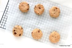 Spelt scones met rozijnen - Mind Your Feed