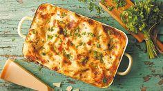 Lasagne s mletým mäsom a orechami