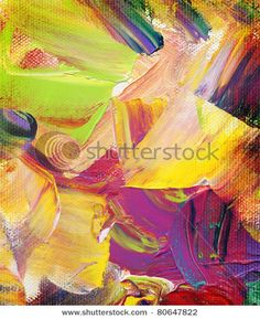 abstract impasto paintings