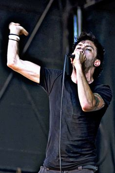 Tim McIlrath of Rise Against