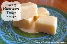 {Easy} Microwave Fudge Recipe