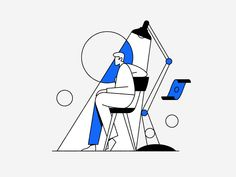 Basic Income by Timo Kuilder on Dribbble Flat Design Illustration, Business Illustration, Character Illustration, Digital Illustration, Graphic Illustration, Graphic Art, Line Illustrations, Illustration Styles, Storyboard