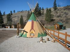 Yeck...you can even reserve a TeePee! Call 509-687-Tims (8467) or visit http://www.chelanrentals.com/reservations/ to reserve your Cabin.
