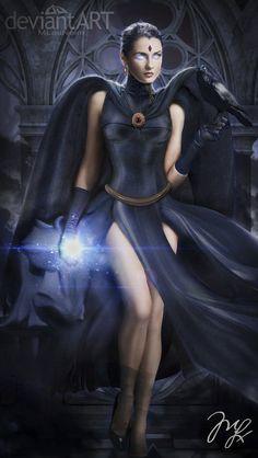 Raven from Titans by Maryneim on deviantART