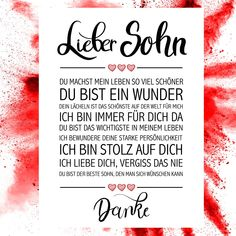 Lieber Sohn Kunstdruck - New Ideas Matching Family Tattoos, Meaningful Tattoos For Family, Symbol For Family Tattoo, Inspirational Quotes About Strength, Inspiring Quotes About Life, Ideas Fuertes, Kid Tattoos For Moms, Unique Tattoos With Meaning, Daughters Name Tattoo
