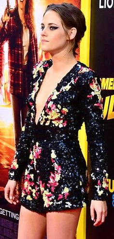 Kristen Stewart at the premiere of American Ultra, 8/20/15