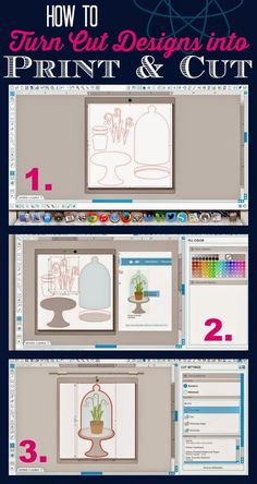 How to Turn a Silhouette Store Design into a Print and Cut ~ Silhouette School
