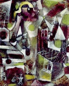 "Paul Klee ""Swamp Legend"", 1919"