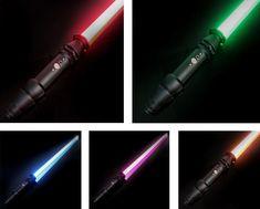 Skywalker Lightsaber, Lightsaber Hilt, Star Wars Light Saber, Aluminium Alloy, Color Change, Diffuser, Stars, Metal, Sterne