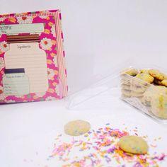 Vanilla Rice Crispy Confetti Cookies