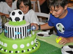 """Photo 8 of 18: Soccer Party /Football / Birthday """" Soccer Birthday Party"""" 