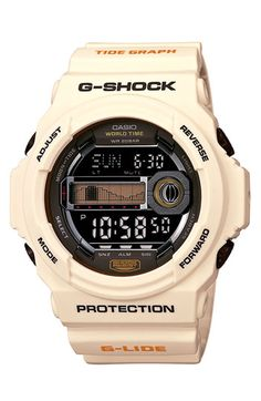 Casio 'G-Shock - Tidegraph' Digital Watch available at #Nordstrom